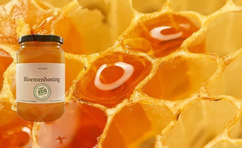 Bloemen Honing Rauw - 400 Gram