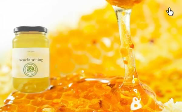 Acacia Honing Rauw - 800 Gram