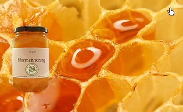 Bloemen Honing Rauw - 800 Gram